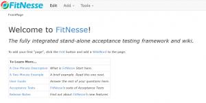 fitnesse-wiki